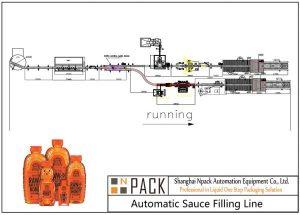 Ligne de remplissage automatique de miel