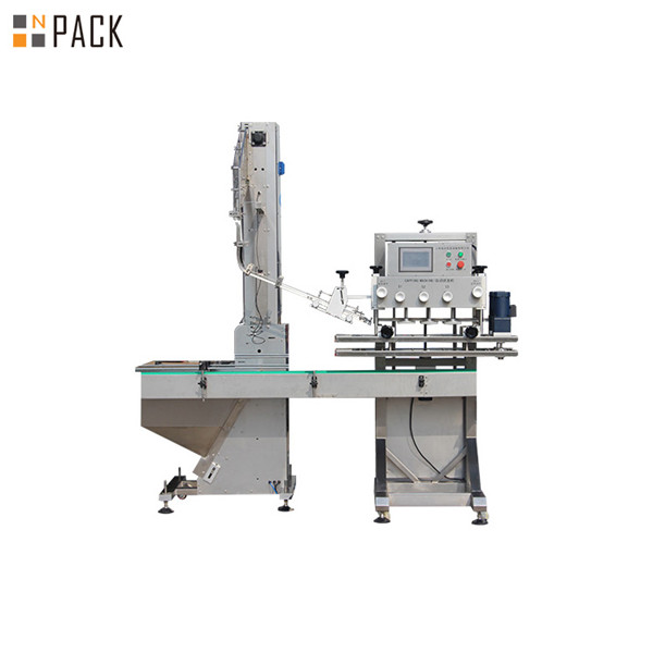 Automatic Spindle Bottle Capper Machine