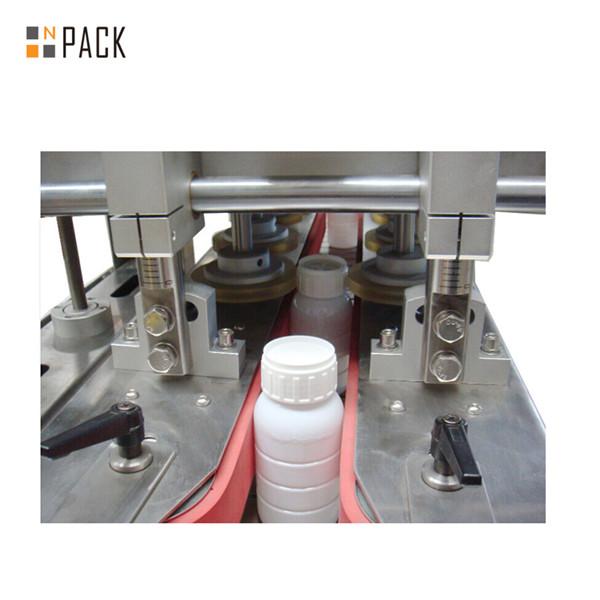 Machine de capsulage de bouteilles à broche automatique