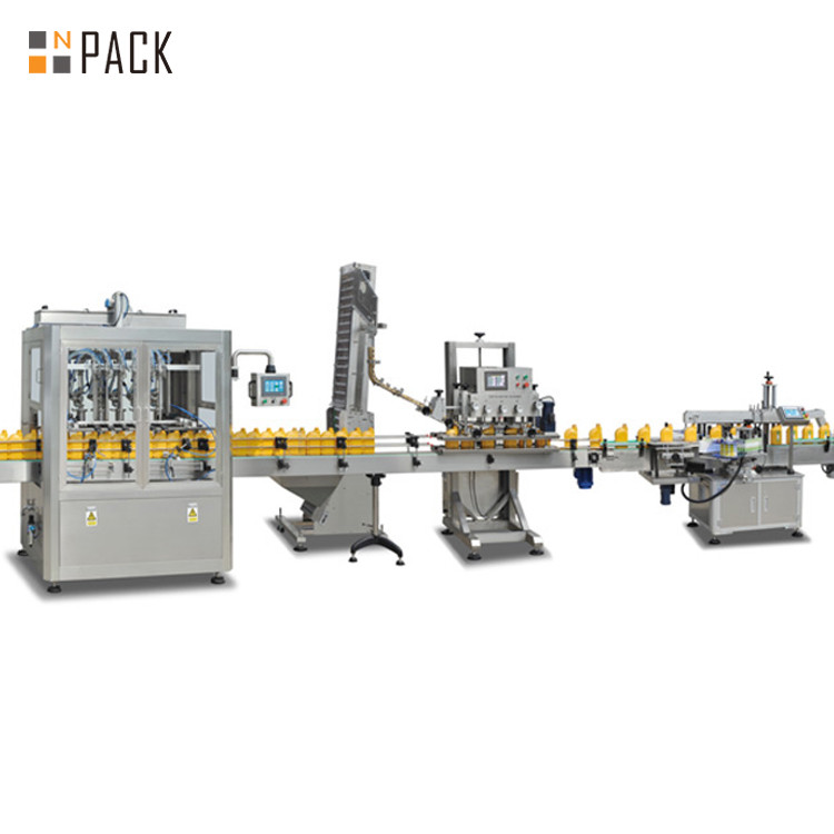 Vegetable Oil Filling Machine