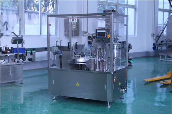 CBD oil filling machine