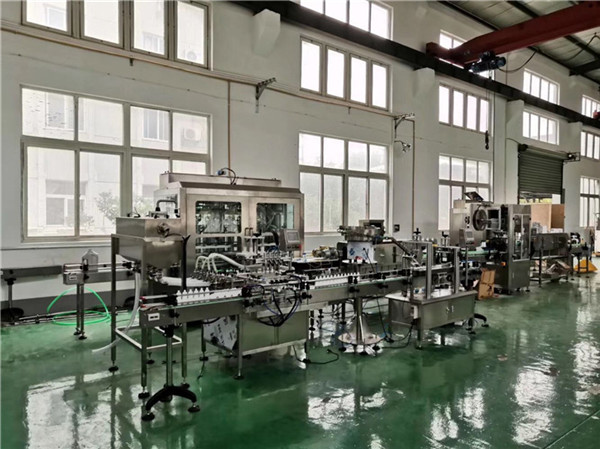 Filling machine line