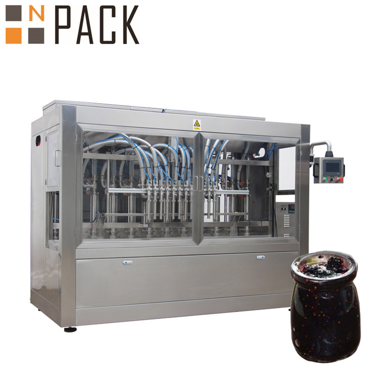 Fruit Jam Jars Filling Machine