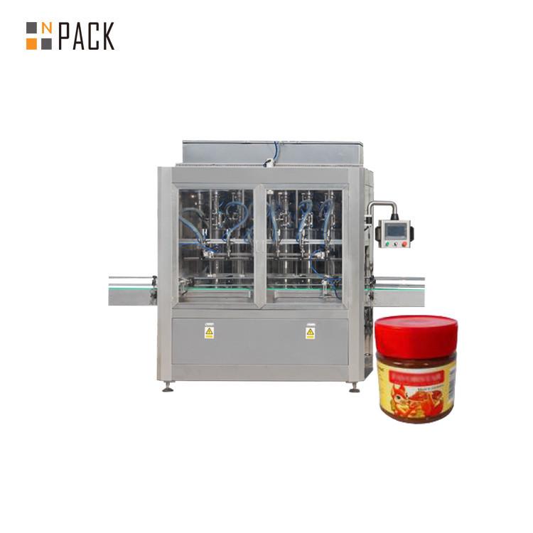 Machine de remplissage de beurre d'arachide