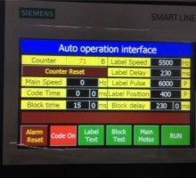 PLC de Siemens et écran tactile