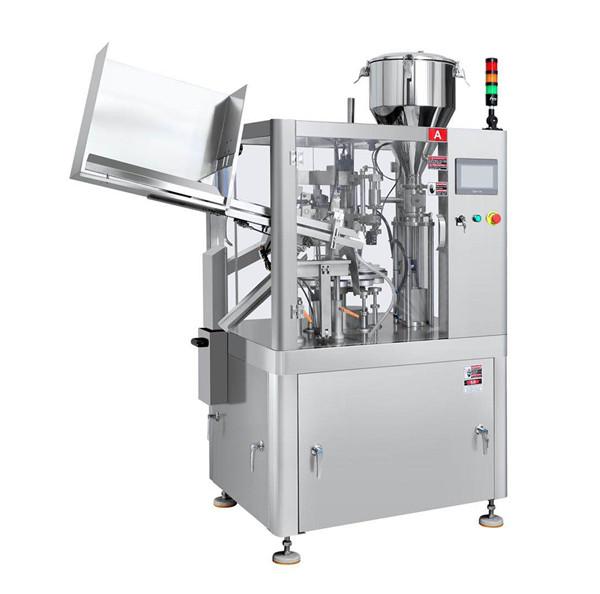Machine de remplissage et de scellage de tubes en plastique de dentifrice (1)