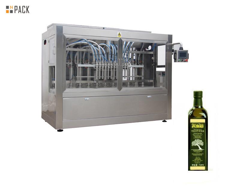 machine de remplissage de bouteilles d'huile d'olive