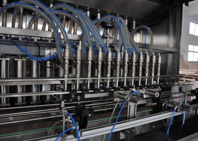 machine de remplissage d'huile d'huile automatique